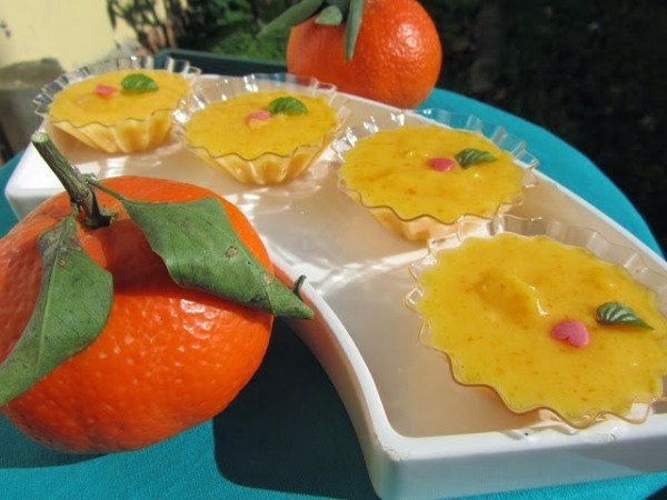 Mandarina curd Ana Sevilla cocina tradicional