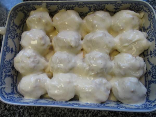 Huevos rellenos de carne Thermomix