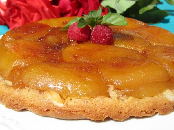 Tarta Tatín de almendra Ana Sevilla Tarta de manzana