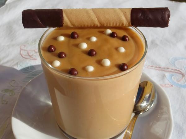 Natillas de dulce de leche Thermomix