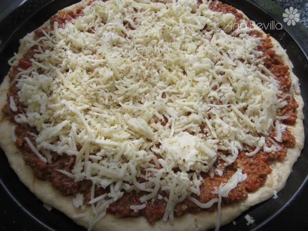 Pizza a la barbacoa Thermomix