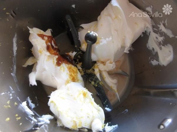Tarta de galletas y mascarpone Thermomix