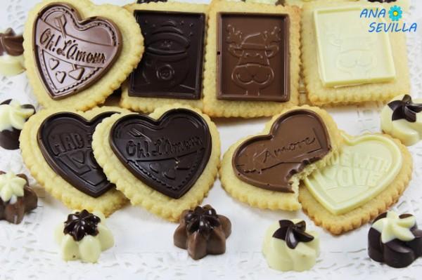 Galletas de coco y chocolate Ana Sevilla con Thermomix