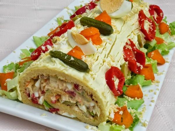 Brazo gitano salado frío Ana Sevilla cocina tradicional