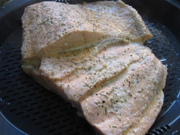 Salmón en salsa de naranja Thermomix