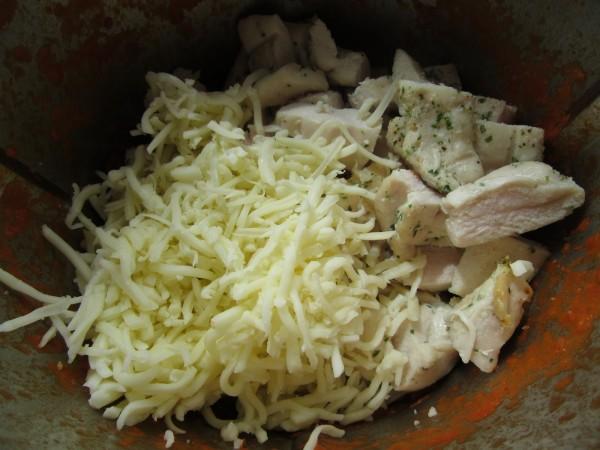 Tacos o tortitas de pollo y tomate Thermomix