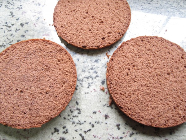 Tarta buttercream de chocolate Thermomix