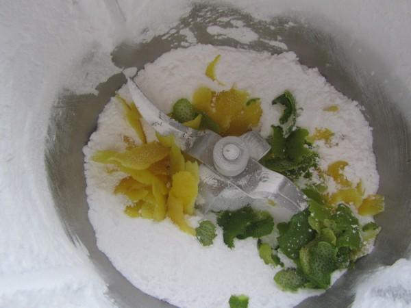 Helado de lima-limón con Thermomix