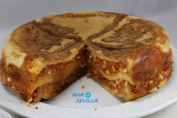 Sandwich de atún y tomate olla GM Ana Sevilla