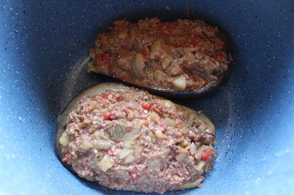 Berenjenas de carne olla GM