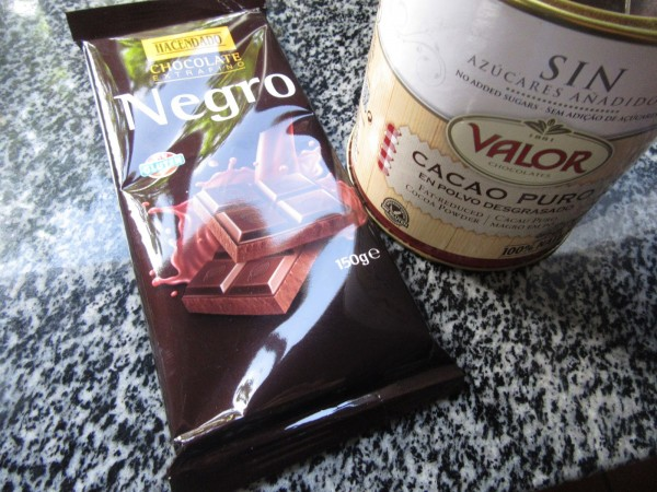 Helado de chocolate expres con Thermomix