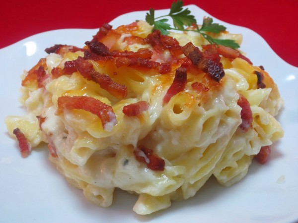 Macarrones Foster Thermomix