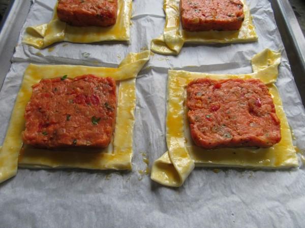 Tartaletas de carne con Thermomix