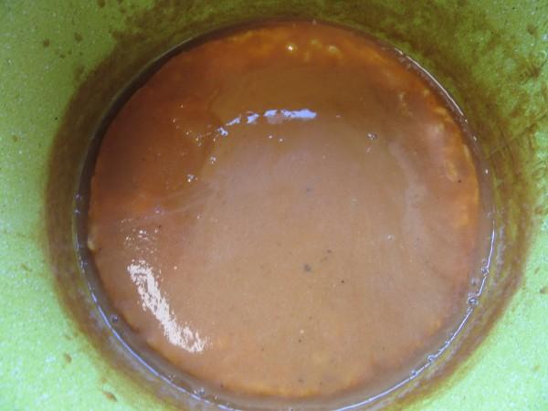 Tortilla guisada en salsa española olla GM