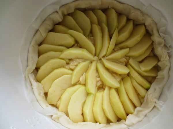 Tarta de crema y manzana Olla GM