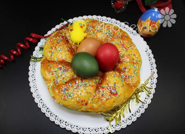 Rosca de Pascua italiana olla GM