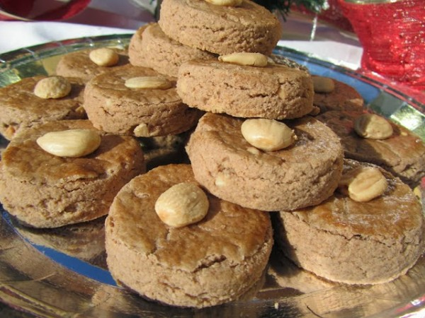 Mantecados de almendra y chocolate Ana Sevilla
