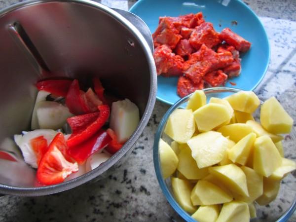 Patatas con costillas Thermomix