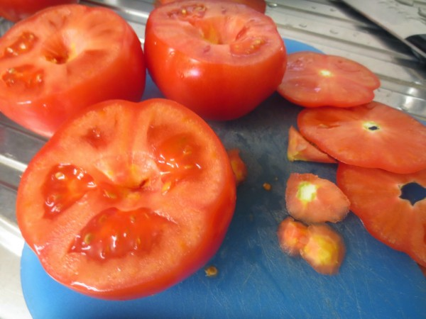 Tomates rellenos a la italiana olla GM