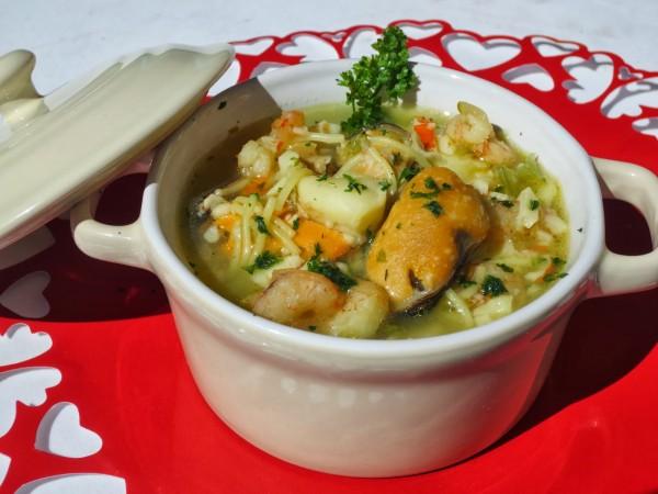 Sopa de pescado rápida y económica Ana Sevilla