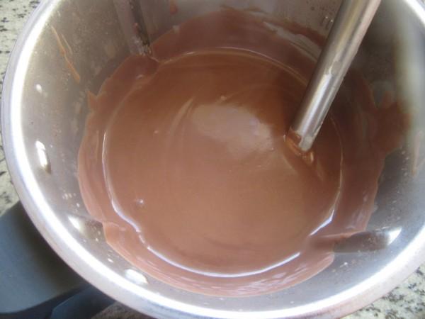 Copas de chocolate y nata Thermomix