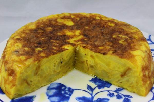 Tortilla con patatas horneadas olla GM