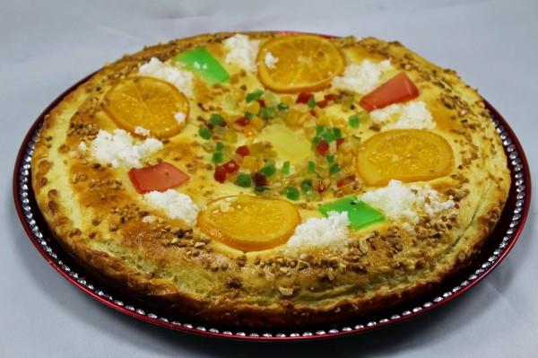 Empanada de los Reyes Magos Ana Sevilla con Thermomix