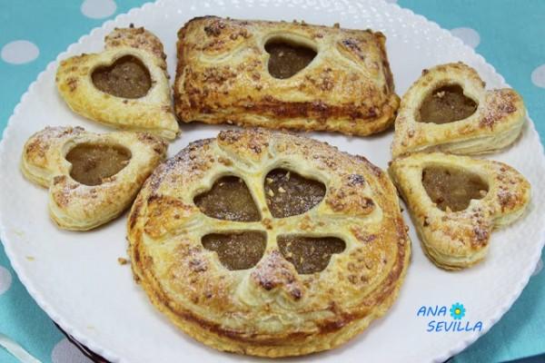 Empanadillas de manzana na Sevilla cocina tradicional