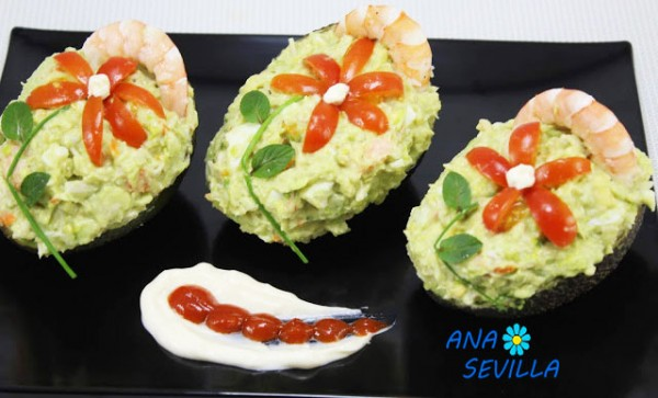 Aguacates rellenos Thermomix