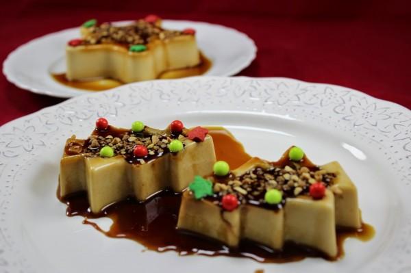 Panna cotta de turrón y queso Ana Sevilla cocina tradicional