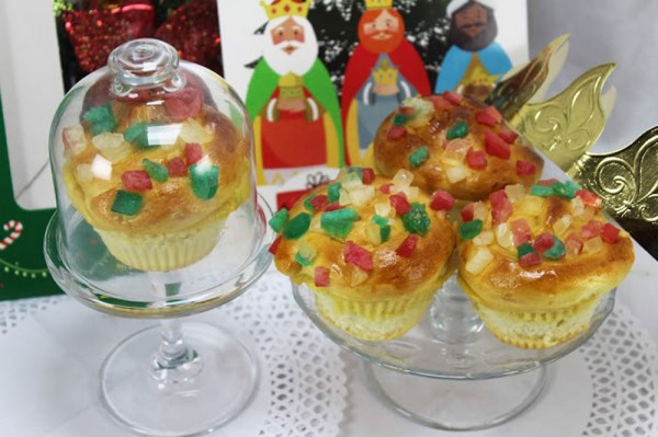 Muffins de lor Reyes Magos Thermomix