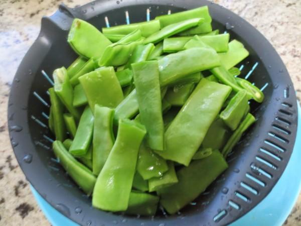 Judías verdes guisadas Thermomix
