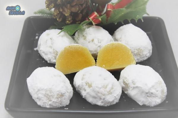 Pasteles Glorias de Navidad Ana Sevilla cocina tradicional
