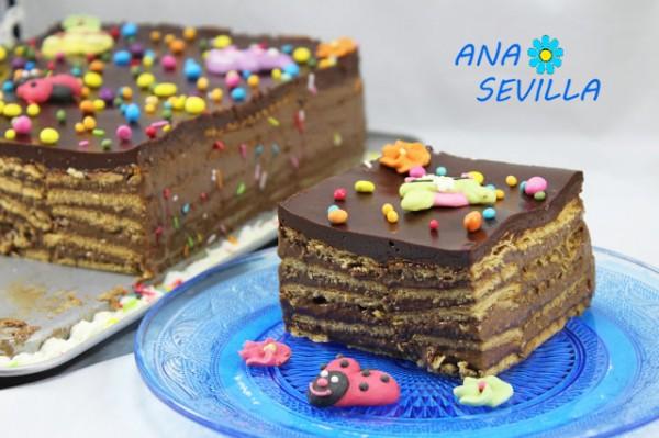 Tarta De Chocolate Y Galletas Thermomix Juani De Ana Sevilla Recetas Thermomix Olla Gm Mambo