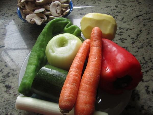 Potaje de verduras olla GM