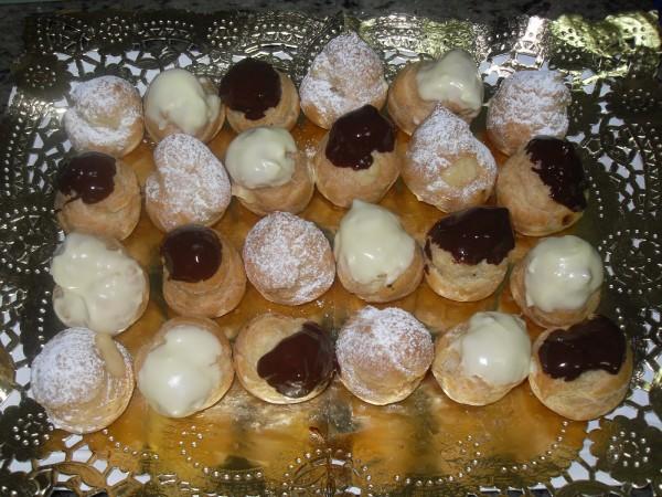 Profiteroles de bocao Ana Sevilla cococina tradicional