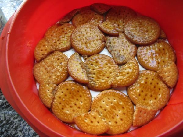 Tarta de galletas y moka con Thermomix