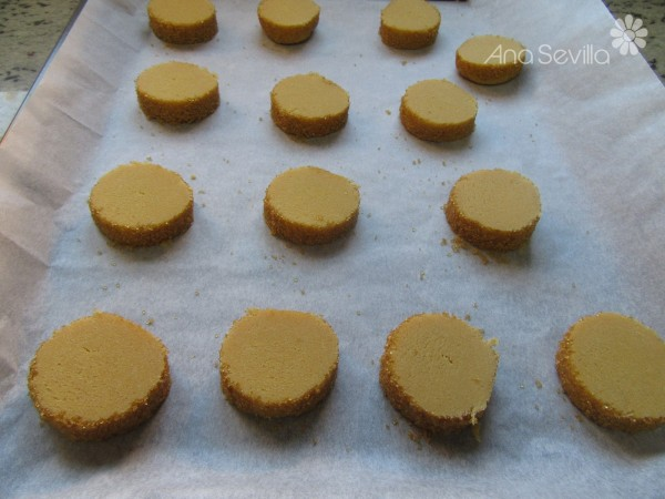Galletas diamante sablé Thermomix
