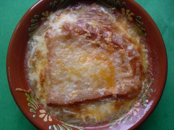 Sopa de cebolla Thermomix