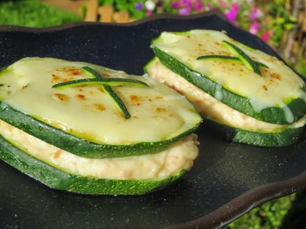 Sandwich de calabacín Ana Sevilla con Thermomix