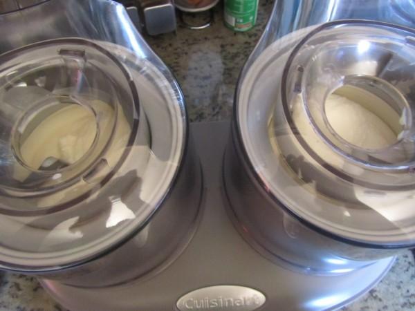 Helado de leche merengada con Thermomix
