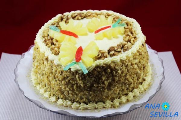 Tarta Colibrí (Cake Hummingbird) Thermomix