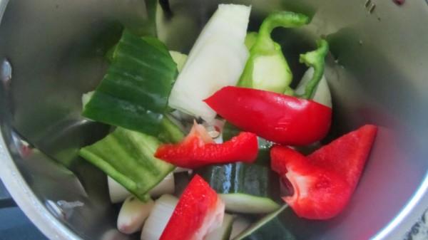 Hamburguesas con verduras Thermomix