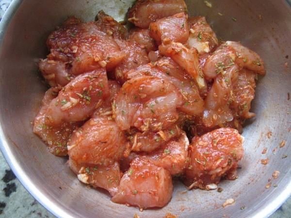 Solomillo de pavo adobado en salsa con Thermomix