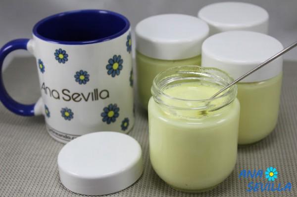 Yogures de limón (Thermomix, tradicional y olla GM) Ana Sevilla
