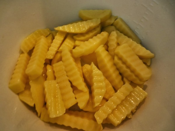 Patatas fritas con huevos SIN ACEITE olla GM