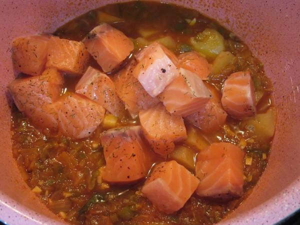 Marmitako de salmón olla GM