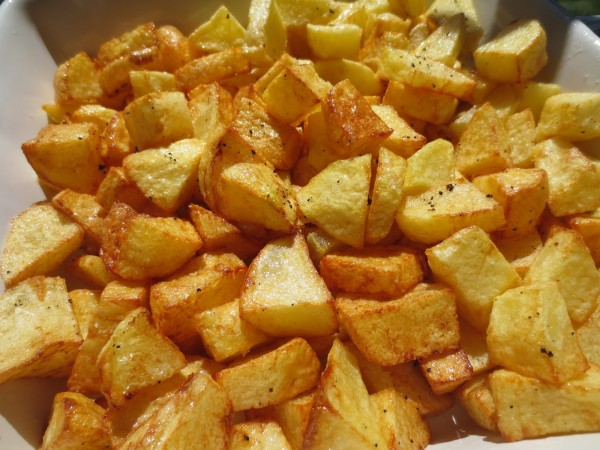 Patatas Foster  Thermomix