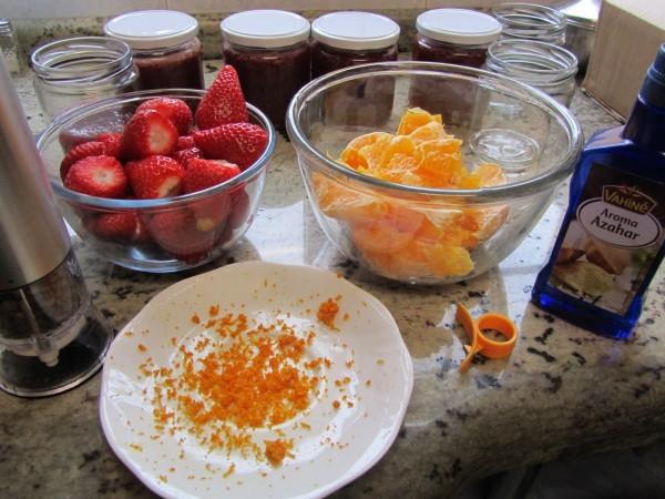 Mermelada de naranja y fresa Thermomix
