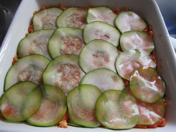 Calabacines de pollo al pomodoro Thermomix